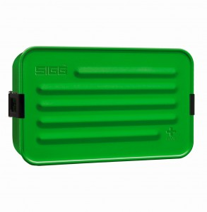 SIGG Metal Food Box Plus L Green