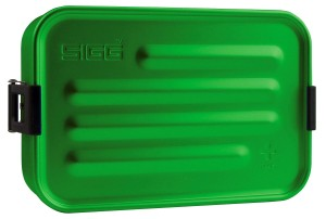 SIGG Metal Food Box Plus S Green