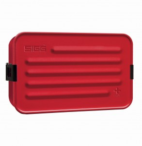 SIGG Metal Food Box Plus L Red