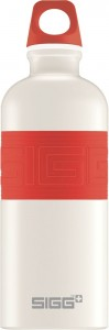 SIGG CYD Pure White Touch Red 0,6 liter
