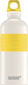 SIGG CYD Pure White Touch Yellow 0,6 liter